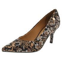 9f5b14ed36 Sapato Feminino Salto Baixo Vizzano - 1185102 PRETO/ROSA PRETO/ROSA -
