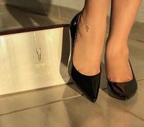 Sapato Feminino Vizzano Scarpin em Verniz 1122 - Preto -