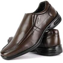 7e08c36d8 Sapato Masculino Anti Stress Ortopedico Palmilha Gel Confort - Sf