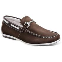 Sapato masculino mocassim sandro moscoloni copacabana marrom light brown - Sandro republic