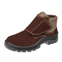 Sapato Nobuck Fecho de Contato PU BI 43 Café  50B26CBVELBPCX43  - Marluvas -