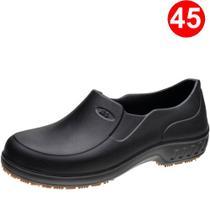 Sapato Ocupacional Flex Clean Marluvas EVA Preto 101FCLEAN-PR-SC CA 39213 Nr. 45 -