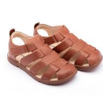 9d7b89a7fb Sapato para Bebês - Linha Walkers - Little Baiao - Whisky - Tip Toey Joey -