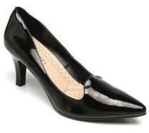 Sapato Scarpin Feminino Facinelli 62705 Verniz Preto -