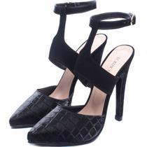 Sapato Scarpin Feminino Preto Salto Alto - Torricella