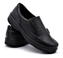 Sapato Social Confort Masculino Casual Flexível Anti Stress - Pizaflex