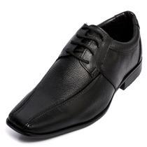 Sapato Social Masculino Cadarço Bico Fino em Couro Selten -