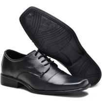e82d0b1a8a Sapato Social Masculino em Couro de Amarrar Garra 700