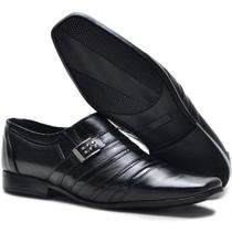 2f55414216 Sapato Social Masculino Monaco Em Couro