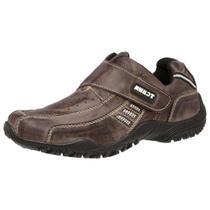 Sapato Tenis Masculino Fácil Calçar P/trabalho Couro Bovino - Tchwm Shoes