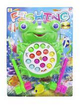 Sapinho Pega Peixe com 2 Martelinhos a Pilha Game Fishing - 20 comercial