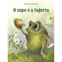Sapo E A Lagarta, O - 1ª Ed. - Dani Grinberg - Cortez Editora -