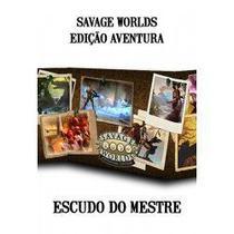 Savage Worlds Edição Aventura - Escudo do Mestre - Retropunk -