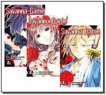 Savanna game - 01 temp. - vols. 01 a 03 - Jbc