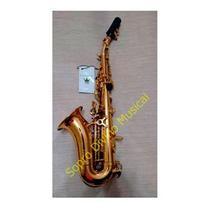 Sax Soprano Curvo Laqueado Schieffer -