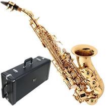 Sax Soprano Eagle SP508 Curvo -