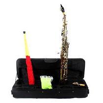 Sax Soprano Reto Laqueado Chaves Niqueladas Jahnke JSSH0001 LQ/NQ -