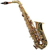 Saxofone Alto Shelter Sft6430l Em Eb Laqueado C/ Case Luxo -