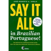 Say It All - In Brazilian Portuguese! With Cd - Disal