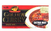 SB Golden Curry Ookara Extra Hot 220g (Extra Forte) -
