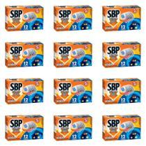 SBP Inseticida Elétrico SBP 12H Aparelho + 4 pastilhas (Kit C/12) -