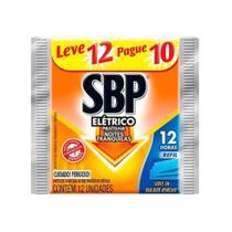 SBP Inseticida Elétrico SBP 12H Refil Líquido C/10 -