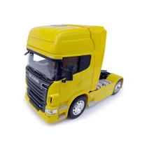 Scania R730 V8 Toco Welly 1:32 Amarelo
