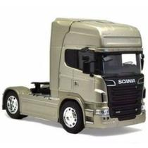 Scania R730 V8 Toco Welly 1:64 Bege