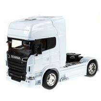 Scania R730 V8 Toco Welly 1:64 Branco