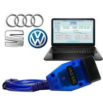 Scanner Automotivo Vagcom Obd2 Automotivo USB VAG KKL VW Audi Seat Skoda - Extraink