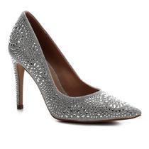 Scarpin Shoestock Bride Salto Alto Cristais -