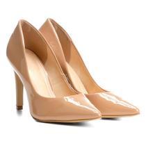 Scarpin Shoestock Salto Alto Verniz -