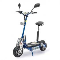 Scooter Patinete Eletrico 1600w 48v Ate 46 Km/H Suporta Ate 120 Kg Azul  Two Dogs -