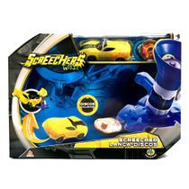 Screechers Super Lançador de Discos Amarelo - DTC -
