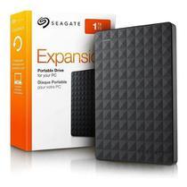 Seagate STEA1000400 Expansão - Disco Rígido Externo Portátil de 1 TB para PC com USB 3.0, Preto -