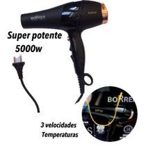 Secador cabelo profissional potente 5000w - CONNECTCELL