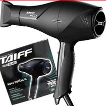 Secador Cabelos Profissional Taiff New Black Ac 1900w 110v -