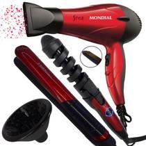 Secador de cabelo difusor prancha frizadora cacheador oferta - Mondial