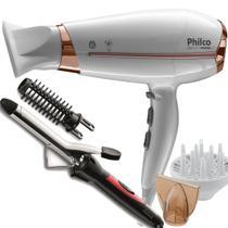 Secador De Cabelo Philco 2000w Ion Profissional Quente Frio Beauty Difusor Modelador Em06 -