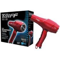 Secador de Cabelo Profissional Taiff Red Ion Linha Elegance 1900w 127v -