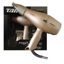 Secador de Cabelo Taiff Fox Íon 3 2 Velocidades Dourado - 2200W -