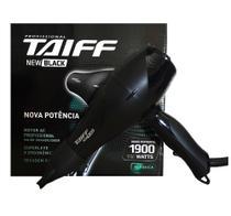 Secador De Cabelo Taiff - New Black 1900 Watts 220v -