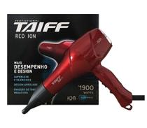Secador De Cabelo Taiff - Red Ion 1900 Watts 220v -