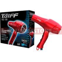 Secador de Cabelo Taiff Red Ion Profissional Vermelho 1900w 127v ou 230 v -