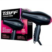 Secador De Cabelo Taiff Titanium Colors Rosa 2100W - 220V -
