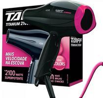 Secador de Cabelo Taiff Titanium Pink 2100W - 220V -