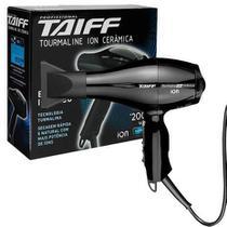 Secador de Cabelos Taiff Tourmaline Íon Cerâmica Motor AC Profissional Preto 2000W 127 V -
