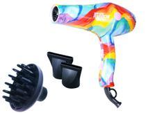 Secador Lizz Profissional Rainbow 2200 Watts 110v C/ DIFUSOR -