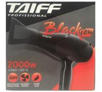 Secador taiff black íon 2000w -
