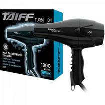 Secador Taiff Turbo Ion Preto 220V -